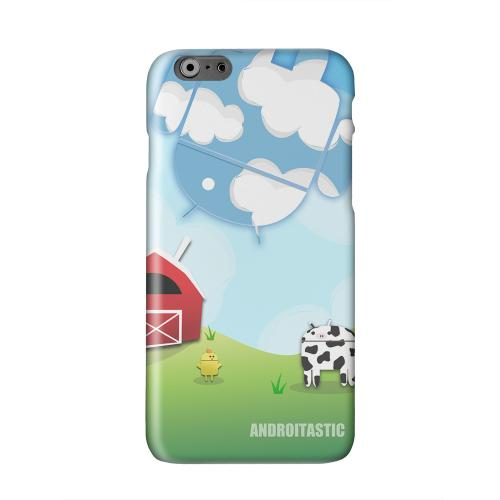 Old McDroidald Had a Farm Solid White Hard Case Cover for Apple iPhone 6 PLUS/6S PLUS (5.5 inch)