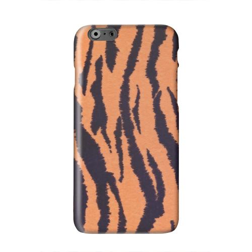 Tiger Print Solid White Hard Case Cover for Apple iPhone 6 PLUS/6S PLUS (5.5 inch)