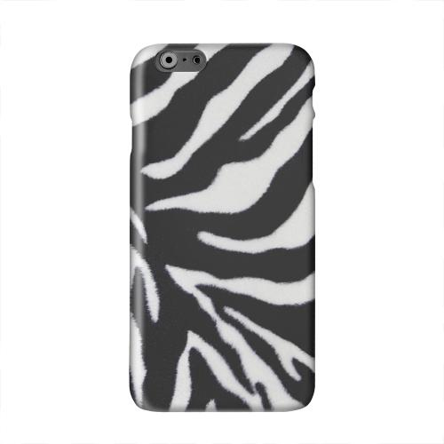 Zebra Print Solid White Hard Case Cover for Apple iPhone 6 PLUS/6S PLUS (5.5 inch)