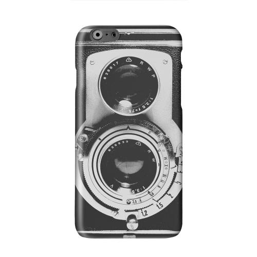 Black Film Noir Camera Solid White Hard Case Cover for Apple iPhone 6 PLUS/6S PLUS (5.5 inch)