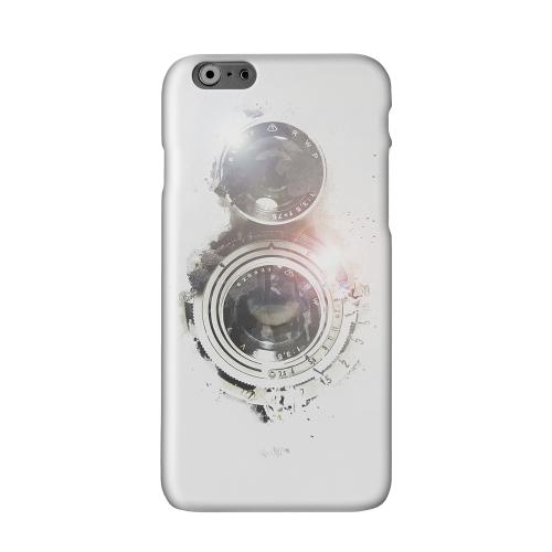 White Lens Flare Solid White Hard Case Cover for Apple iPhone 6 PLUS/6S PLUS (5.5 inch)