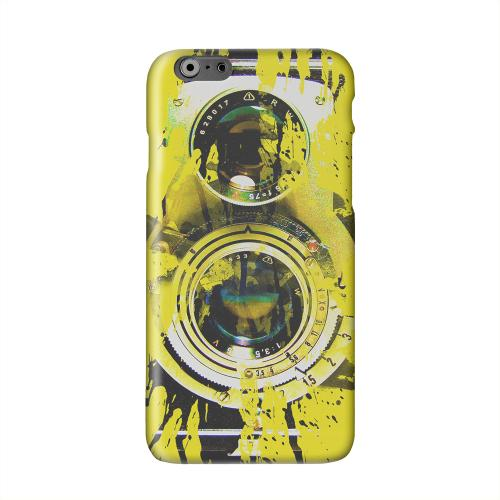 Chaotic Yellow Camera Solid White Hard Case Cover for Apple iPhone 6 PLUS/6S PLUS (5.5 inch)