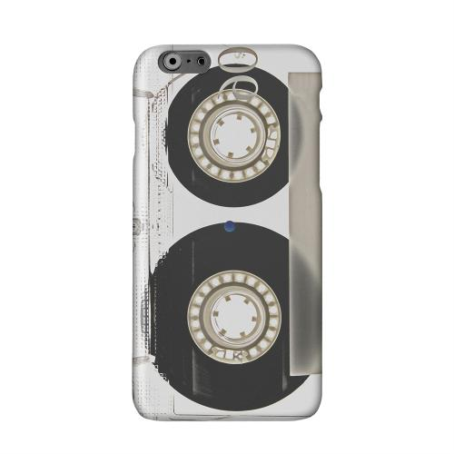 Clear Cassette Solid White Hard Case Cover for Apple iPhone 6 PLUS/6S PLUS (5.5 inch)