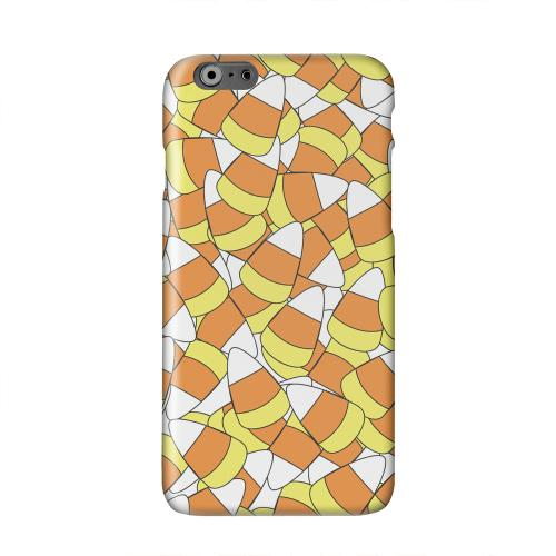 Candy Corn Galore Solid White Hard Case Cover for Apple iPhone 6 PLUS/6S PLUS (5.5 inch)