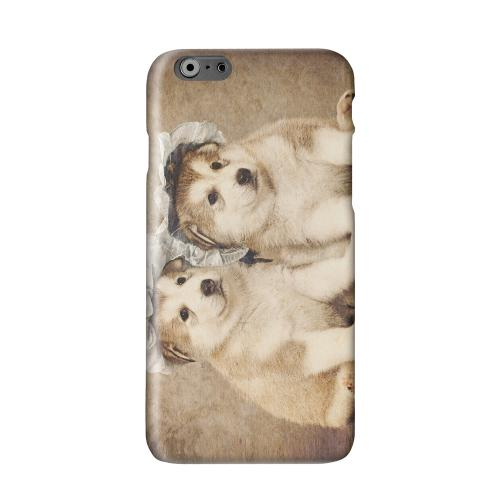 Alaskan Malamute Solid White Hard Case Cover for Apple iPhone 6 PLUS/6S PLUS (5.5 inch)