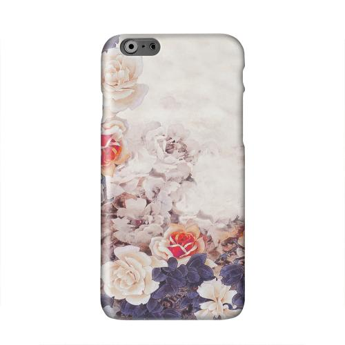 Vintage Roses Solid White Hard Case Cover for Apple iPhone 6 PLUS/6S PLUS (5.5 inch)