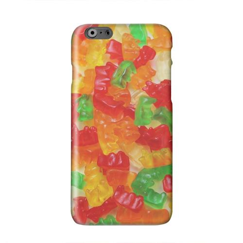 Multi-Colored Gummy Bears Solid White Hard Case Cover for Apple iPhone 6 PLUS/6S PLUS (5.5 inch)