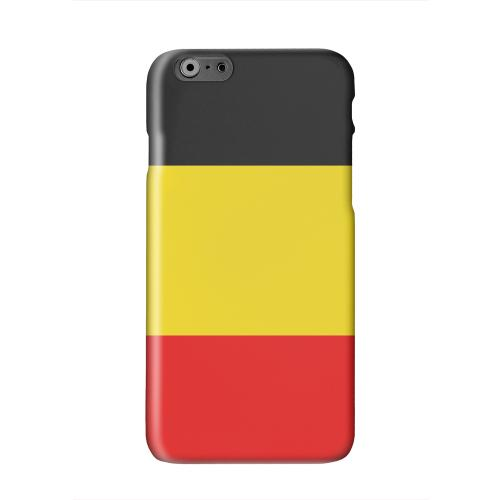 Belgium Solid White Hard Case Cover for Apple iPhone 6 PLUS/6S PLUS (5.5 inch)