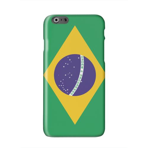 Brazil Solid White Hard Case Cover for Apple iPhone 6 PLUS/6S PLUS (5.5 inch)