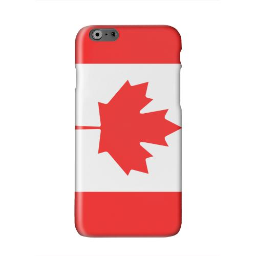 Canada Solid White Hard Case Cover for Apple iPhone 6 PLUS/6S PLUS (5.5 inch)