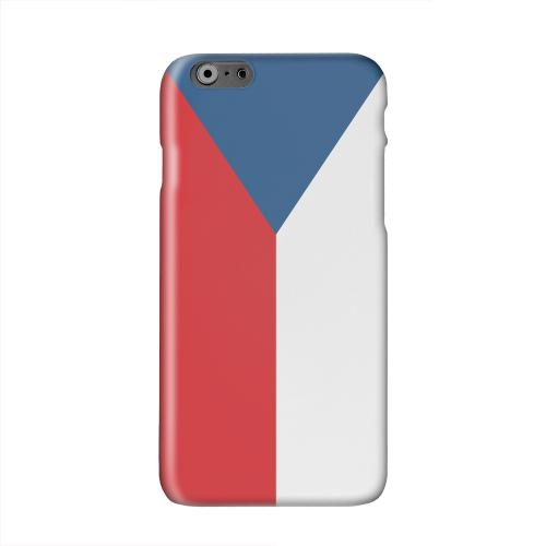 Czech Republic Solid White Hard Case Cover for Apple iPhone 6 PLUS/6S PLUS (5.5 inch)