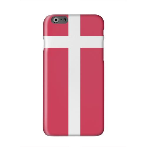 Denmark Solid White Hard Case Cover for Apple iPhone 6 PLUS/6S PLUS (5.5 inch)