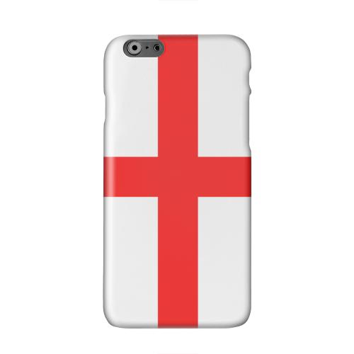 England Solid White Hard Case Cover for Apple iPhone 6 PLUS/6S PLUS (5.5 inch)