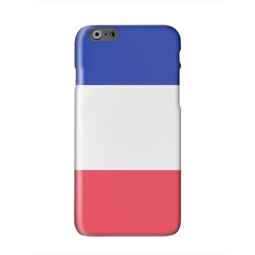 France Solid White Hard Case Cover for Apple iPhone 6 PLUS/6S PLUS (5.5 inch)