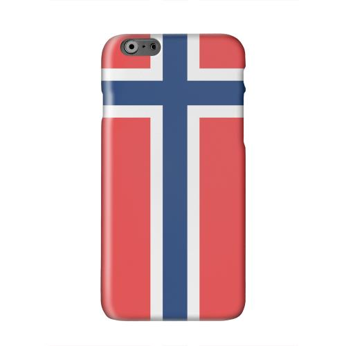 Norway Solid White Hard Case Cover for Apple iPhone 6 PLUS/6S PLUS (5.5 inch)