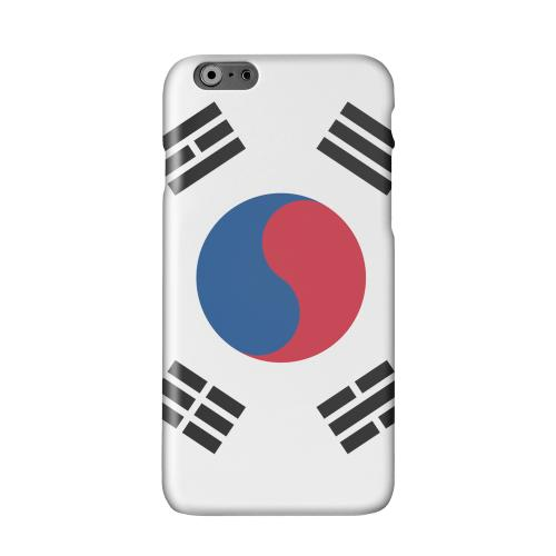 South Korea Solid White Hard Case Cover for Apple iPhone 6 PLUS/6S PLUS (5.5 inch)