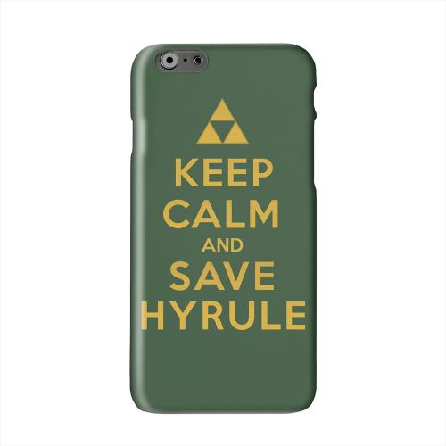 Green Save Hyrule Solid White Hard Case Cover for Apple iPhone 6 PLUS/6S PLUS (5.5 inch)