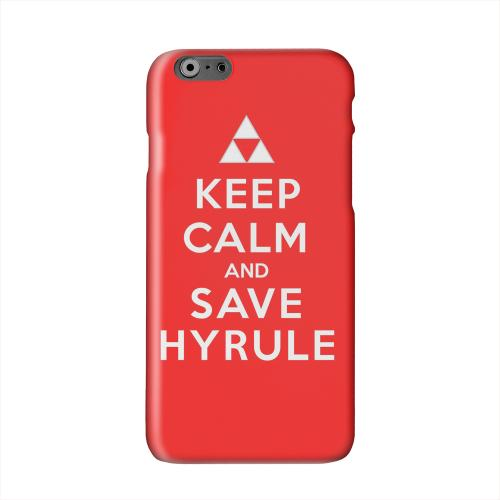 Red Save Hyrule Solid White Hard Case Cover for Apple iPhone 6 PLUS/6S PLUS (5.5 inch)