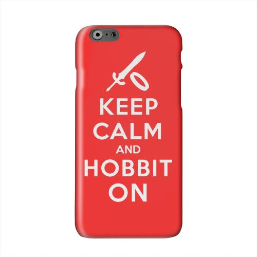 Red Hobbit On Solid White Hard Case Cover for Apple iPhone 6 PLUS/6S PLUS (5.5 inch)