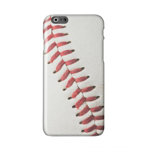 Baseball Solid White Hard Case Cover for Apple iPhone 6 PLUS/6S PLUS (5.5 inch)
