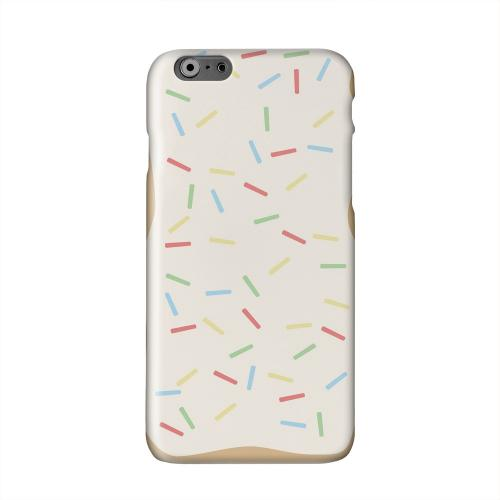 Toaster Pastry w/Sprinkles Solid White Hard Case Cover for Apple iPhone 6 PLUS/6S PLUS (5.5 inch)
