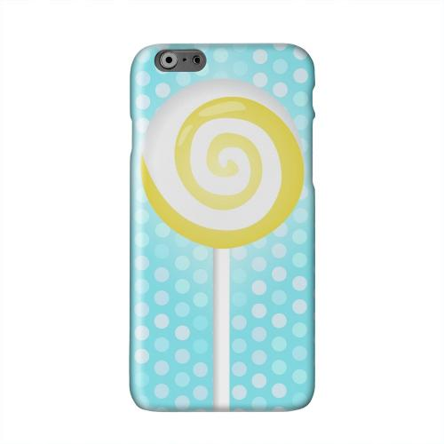 Yellow Lollipop Solid White Hard Case Cover for Apple iPhone 6 PLUS/6S PLUS (5.5 inch)