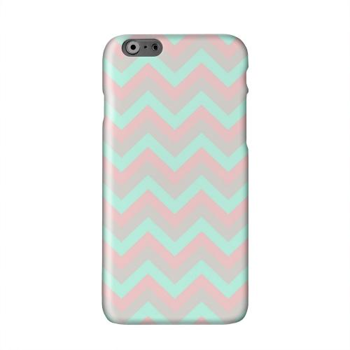 Green on Pink on Gray Solid White Hard Case Cover for Apple iPhone 6 PLUS/6S PLUS (5.5 inch)