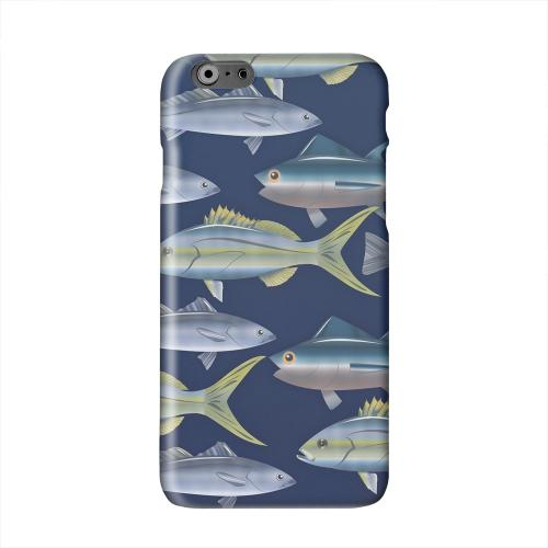 Assorted Fish in the Sea Solid White Hard Case Cover for Apple iPhone 6 PLUS/6S PLUS (5.5 inch)