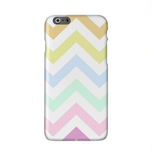 Pastel on White Solid White Hard Case Cover for Apple iPhone 6 PLUS/6S PLUS (5.5 inch)