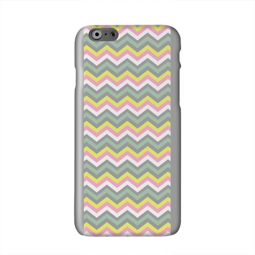 Pink/ Yellow/ Gray/ Green Solid White Hard Case Cover for Apple iPhone 6 PLUS/6S PLUS (5.5 inch)
