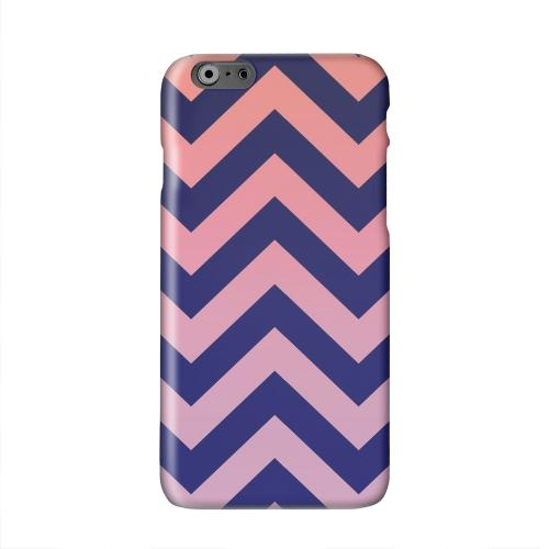 Pink/ Navy Blue Gradient Solid White Hard Case Cover for Apple iPhone 6 PLUS/6S PLUS (5.5 inch)