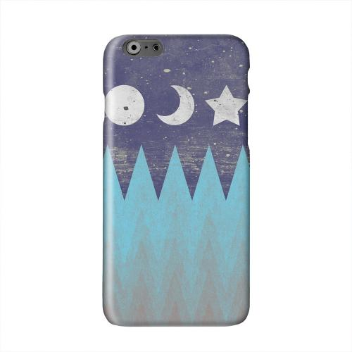 Sun Moon Star Solid White Hard Case Cover for Apple iPhone 6 PLUS/6S PLUS (5.5 inch)