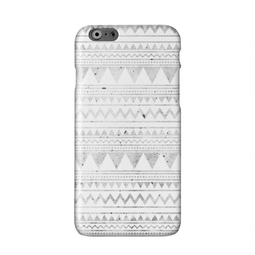Grungy Triangles Solid White Hard Case Cover for Apple iPhone 6 PLUS/6S PLUS (5.5 inch)