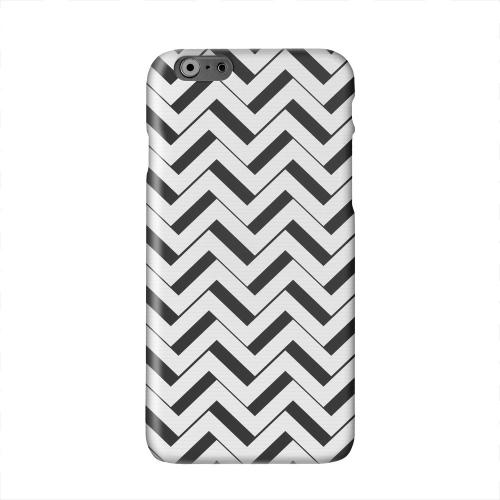 Black/ White 3D Solid White Hard Case Cover for Apple iPhone 6 PLUS/6S PLUS (5.5 inch)