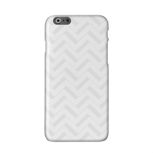 Light Gray/ White 3D Solid White Hard Case Cover for Apple iPhone 6 PLUS/6S PLUS (5.5 inch)