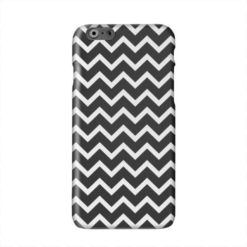 White on Black Solid White Hard Case Cover for Apple iPhone 6 PLUS/6S PLUS (5.5 inch)