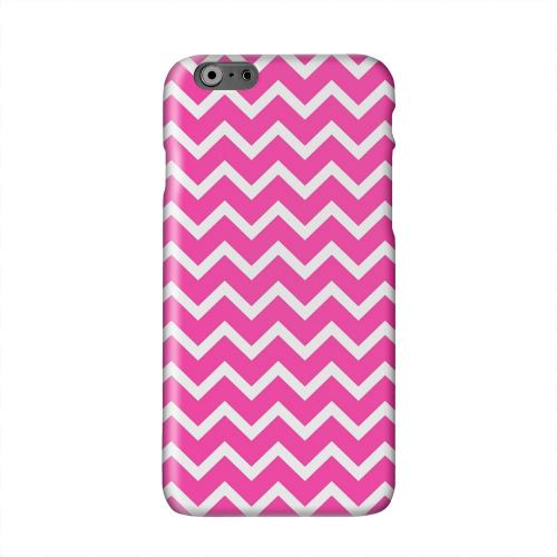 White on Hot Pink Solid White Hard Case Cover for Apple iPhone 6 PLUS/6S PLUS (5.5 inch)