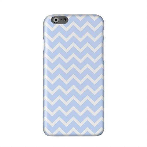 White on Light Blue Solid White Hard Case Cover for Apple iPhone 6 PLUS/6S PLUS (5.5 inch)
