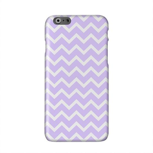 White on Light Purple Solid White Hard Case Cover for Apple iPhone 6 PLUS/6S PLUS (5.5 inch)