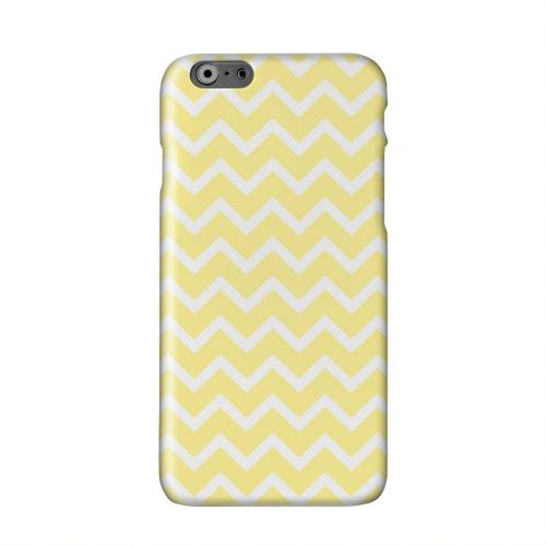 White on Yellow Solid White Hard Case Cover for Apple iPhone 6 PLUS/6S PLUS (5.5 inch)