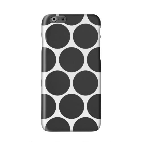 Big & Black Solid White Hard Case Cover for Apple iPhone 6 PLUS/6S PLUS (5.5 inch)