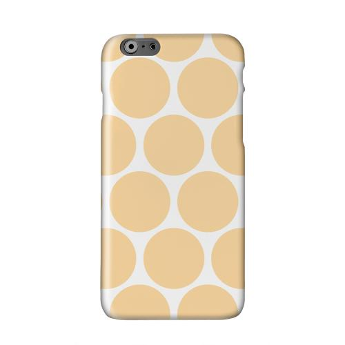 Big & Orange Solid White Hard Case Cover for Apple iPhone 6 PLUS/6S PLUS (5.5 inch)