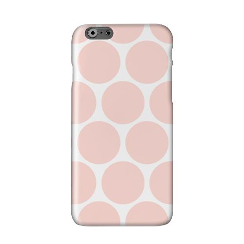 Big & Baby Pink Solid White Hard Case Cover for Apple iPhone 6 PLUS/6S PLUS (5.5 inch)