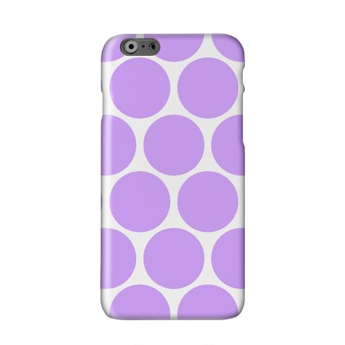 Big & Purple Solid White Hard Case Cover for Apple iPhone 6 PLUS/6S PLUS (5.5 inch)