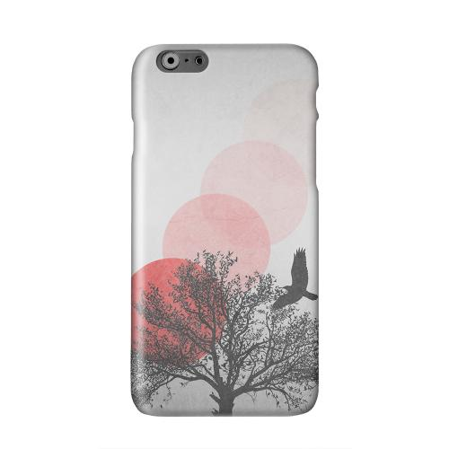Sunset Fade Solid White Hard Case Cover for Apple iPhone 6 PLUS/6S PLUS (5.5 inch)