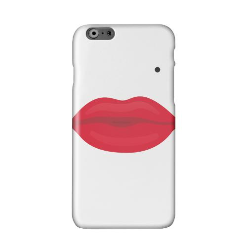 Glamour Lips Solid White Hard Case Cover for Apple iPhone 6 PLUS/6S PLUS (5.5 inch)