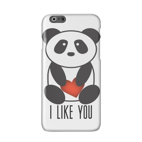 I Like You Panda Solid White Hard Case Cover for Apple iPhone 6 PLUS/6S PLUS (5.5 inch)