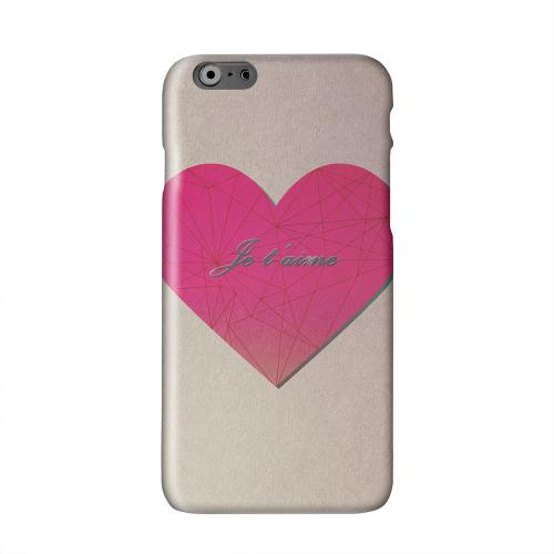 Je t'aime Solid White Hard Case Cover for Apple iPhone 6 PLUS/6S PLUS (5.5 inch)