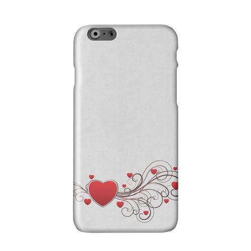 Love Bloom Solid White Hard Case Cover for Apple iPhone 6 PLUS/6S PLUS (5.5 inch)