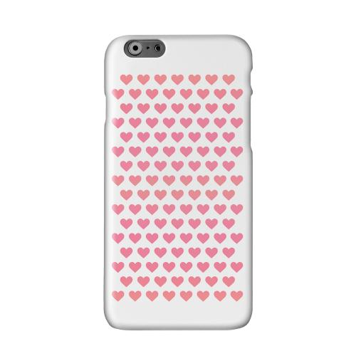 Miniature Hearts Solid White Hard Case Cover for Apple iPhone 6 PLUS/6S PLUS (5.5 inch)